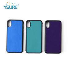 Kundenspezifischer PU-lederner Telefon-Kasten für Iphone Xs