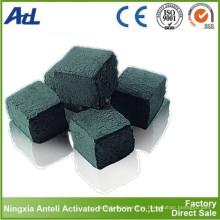 Carbón de leña de las cachimbas de carbón activado