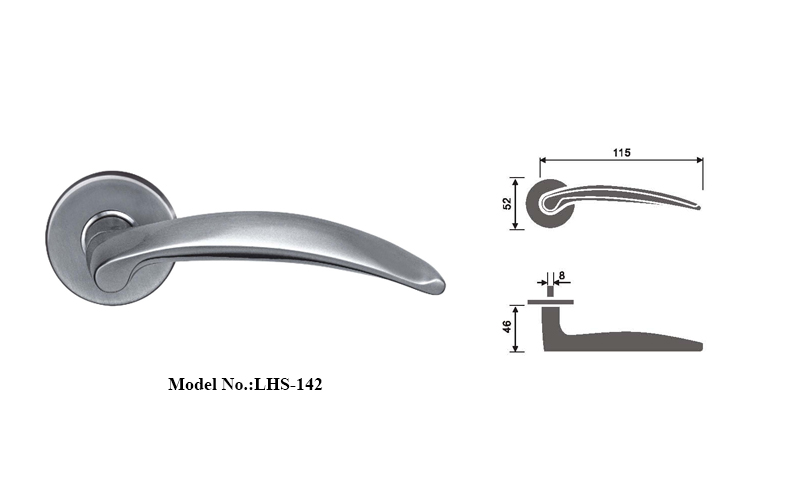 Right-handed Lever Handles Set