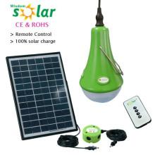 Kit d'éclairage solaire de qualité, ventilateur solaire & système d'éclairage solaire lumière led