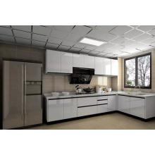 Diseño personalizado 2 pack de alto brillo Lacquer pintura gabinete de cocina