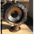 Cubierta centrífuga de la bomba de acero inoxidable / titanio Goulds
