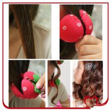 O mais quente rolo de cabelo esponja rolo de cabelo ondulando em casa beleza modelador de cabelo