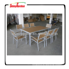 Polywood Furniture mesa y silla muebles de exterior para jardín