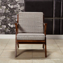 Leisure Upholstered Wooden Structure Restaurant Chair (SP-EC872)