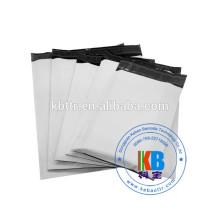 Sacs de courrier en plastique avec courrier blanc personnalisé gris OPP PE LDPE