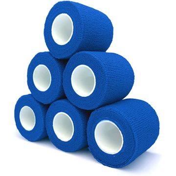 Pet cohesive elastic bandage with different sizes