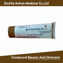Pommade à base d'acide benzoïque composée Pommade médiale OTC