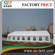 Outdoor große Leinwand 20mx30m Party Hochzeit Zelt heißes geschwungenes Zelt in Südafrika