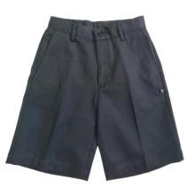 Uniforme court en coton sergé pour garçon bleu marine