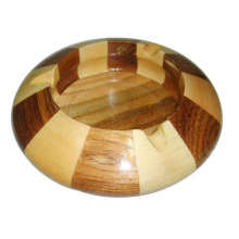 Exquisite Special Design Hao Selling Cicular Wooden Ashtray