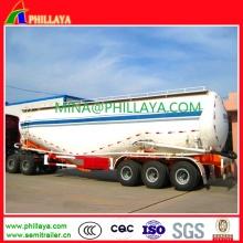 3 Achsen 60 CBM Pulver Mehl Bulk Zement Tankauflieger