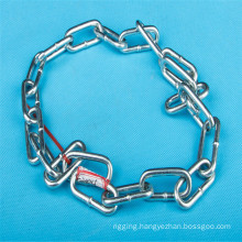 Galvanized DIN 766 Long Link Chain