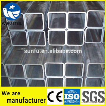 Carbon Square hollow section GB/T6728 Q235B steel pipe