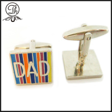 En iyi baba man cufflinks metal