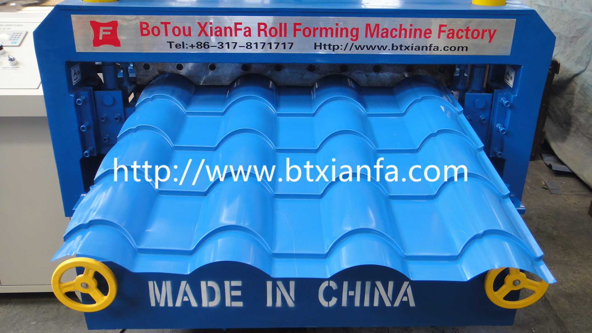 roof tile sheet machine