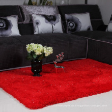Home Textile Red Silk Teppich Matte Dmy-27