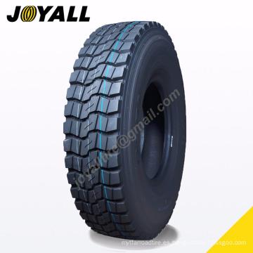 JOYALL China fábrica TBR unidad de neumático C958 súper sobre carga y resistencia a la abrasión 1100r20 para su camión