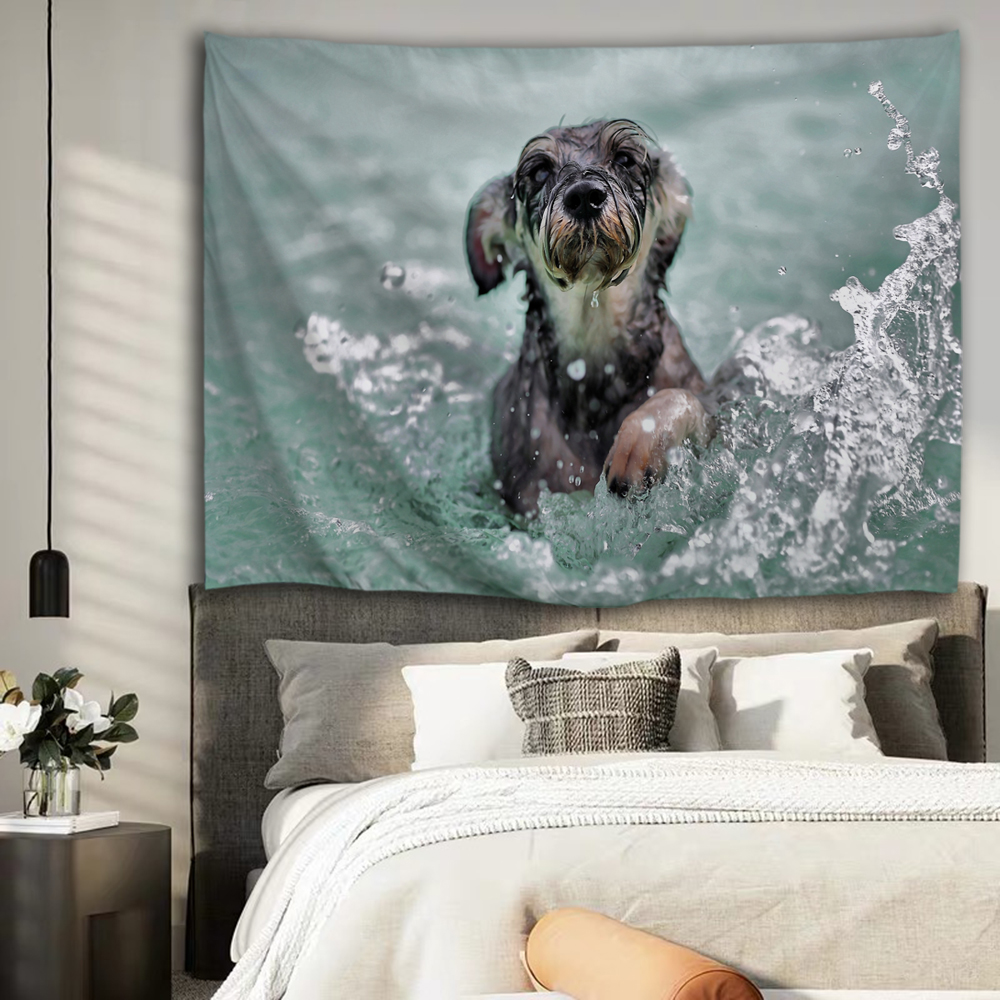 Dog In Water 5