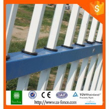 Clôture en tube de fer décorative à tube carré professionnel