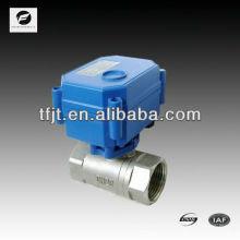 CWX-1.0 Válvula de agua de acero de 2 vías 2NM 3-6V 12V 24V