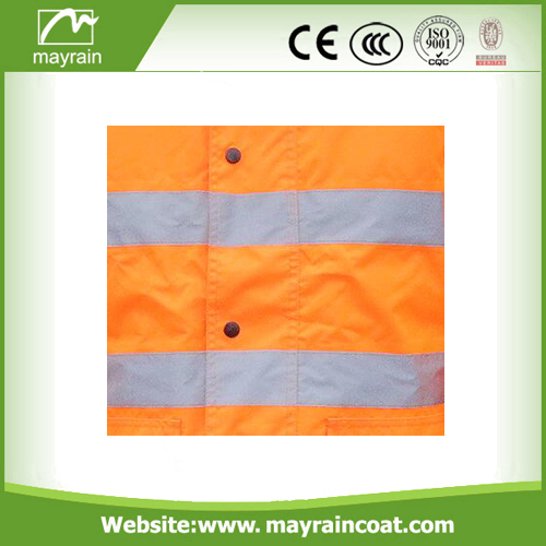 Safety Jacket With Reflecting Tape
