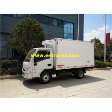 Yuejin 2 Ton Insulated Box Vehicles