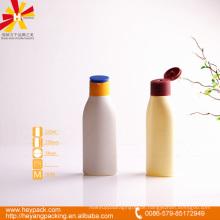 HDPE 125ml Flasche mit Flip Cap