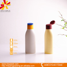 HDPE 125ml bottle with flip cap
