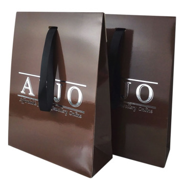Custom Gloss Lamination Gift Coated Paper Bag