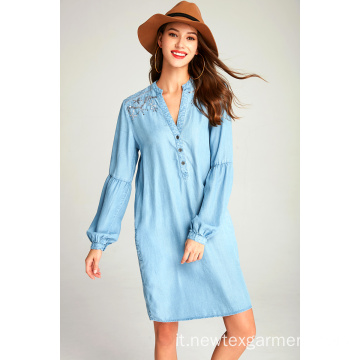 ABITI IN DENIM TENCEL DA DONNA