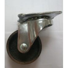 Roulette pivotante en fonte légère