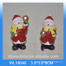 Popular ceramic snowman for christmas decoration