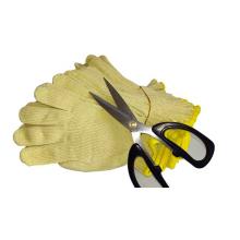 Seamlss Knitted Aramid Anti-cut para guantes de cuchillo