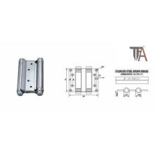 Door Cabinet Steel Silver Hinge (3 inch)