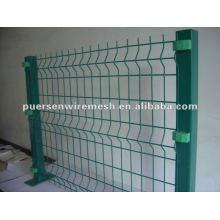 Suministro de vallas de jardín recubiertas de PVC