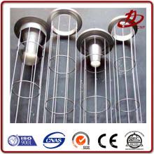 Electrostatic powder spraying surface lubrication filter cage