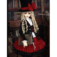 Bjd Clothes Black&Red Suit for Ball-jointed Doll