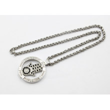 New Arrival Fashion Silver Living Locket Collier