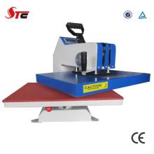 Máquina da imprensa do calor mão T camisa CE certificado Swing