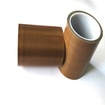 Log roll Tahan suhu tinggi Brown PTFE Tape