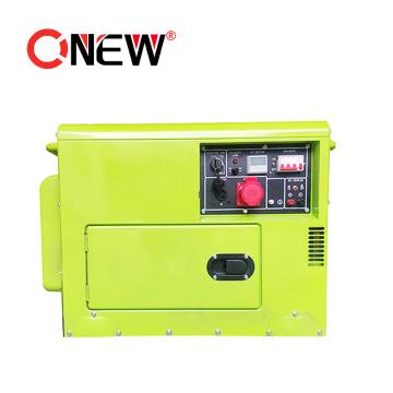 Best Selling 7.5kw 230V Brushless Silent Power Generator Single Phase Single-Phase AC Synchronous Generator Permanent Magnet Generator for Sale