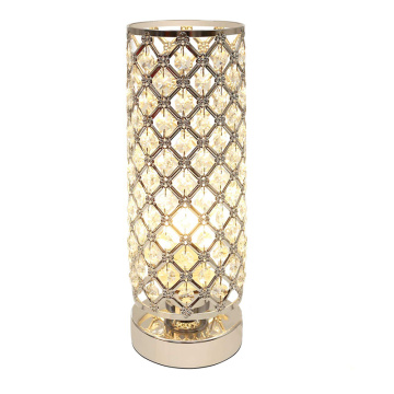 White Gold Side Table Lamps