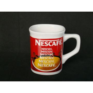 11oz higher whiteness ceramic mugs with printing