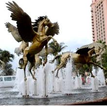 Jardim ao ar livre grande Bronze Horse Statue (serviço personalizado, direto da fábrica)