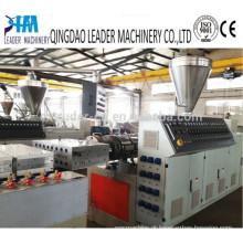 A melhor linha de produção de venda do perfil do PVC, fazendo a máquina