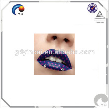 Lip temporary tattoo sticker design with low price