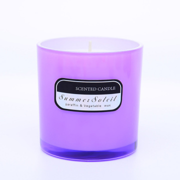 Cup Glass Fragrance Candle untuk pasar UE