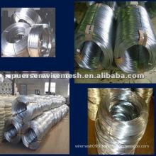 electro galvanized steel wire factory