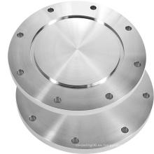 ISO-Lf Accesorios de vacío grandes 8 Orificio atornillado Brida en blanco